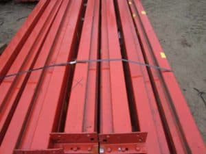 Used Teardrop Beams 96 x 4 A