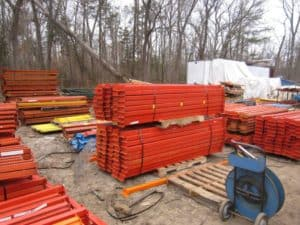 Used Teardrop Beams 96 x 4 B