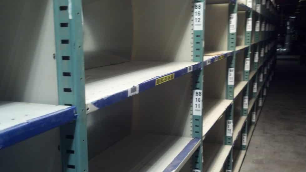 Warehouse Shelving 36 x 48 M