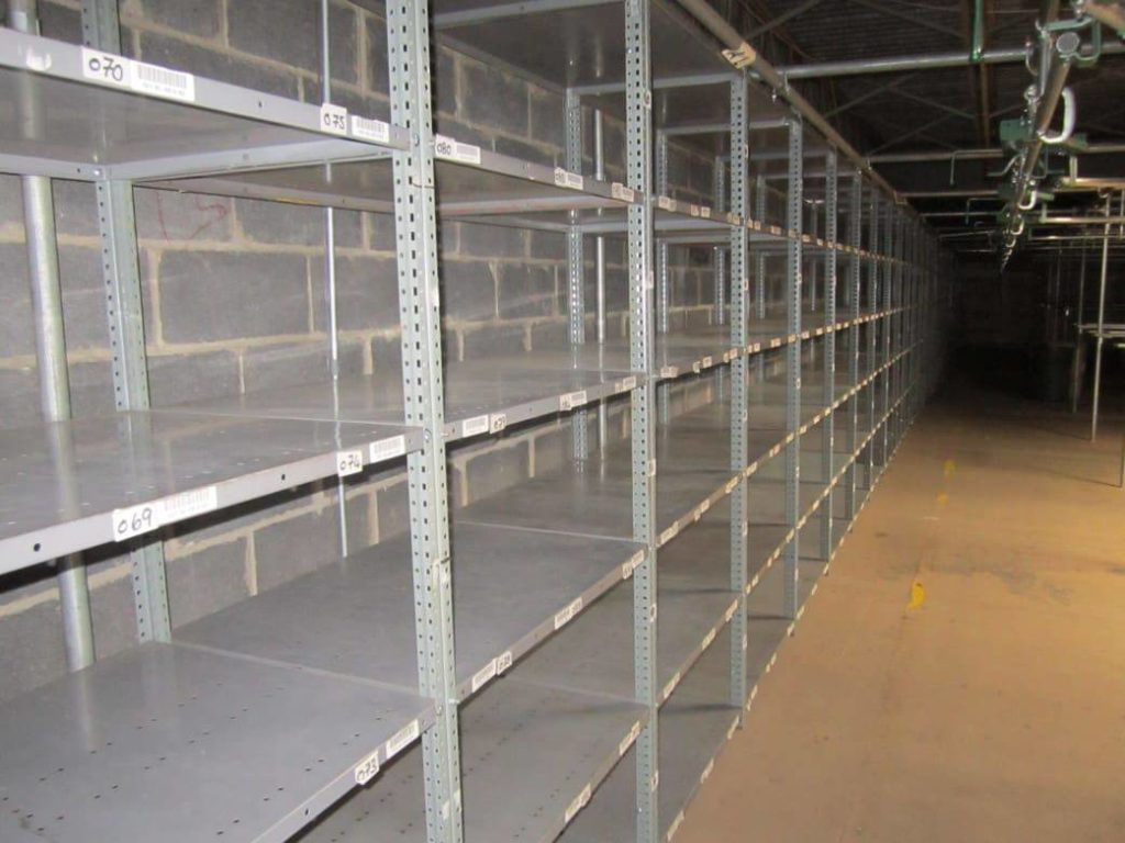 Nut & Bolt Steel Shelving 1