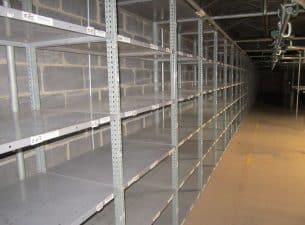 Nut & Bolt Steel Shelving 2