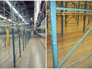 27,000 sq ft Rack-Supported Mezzanine