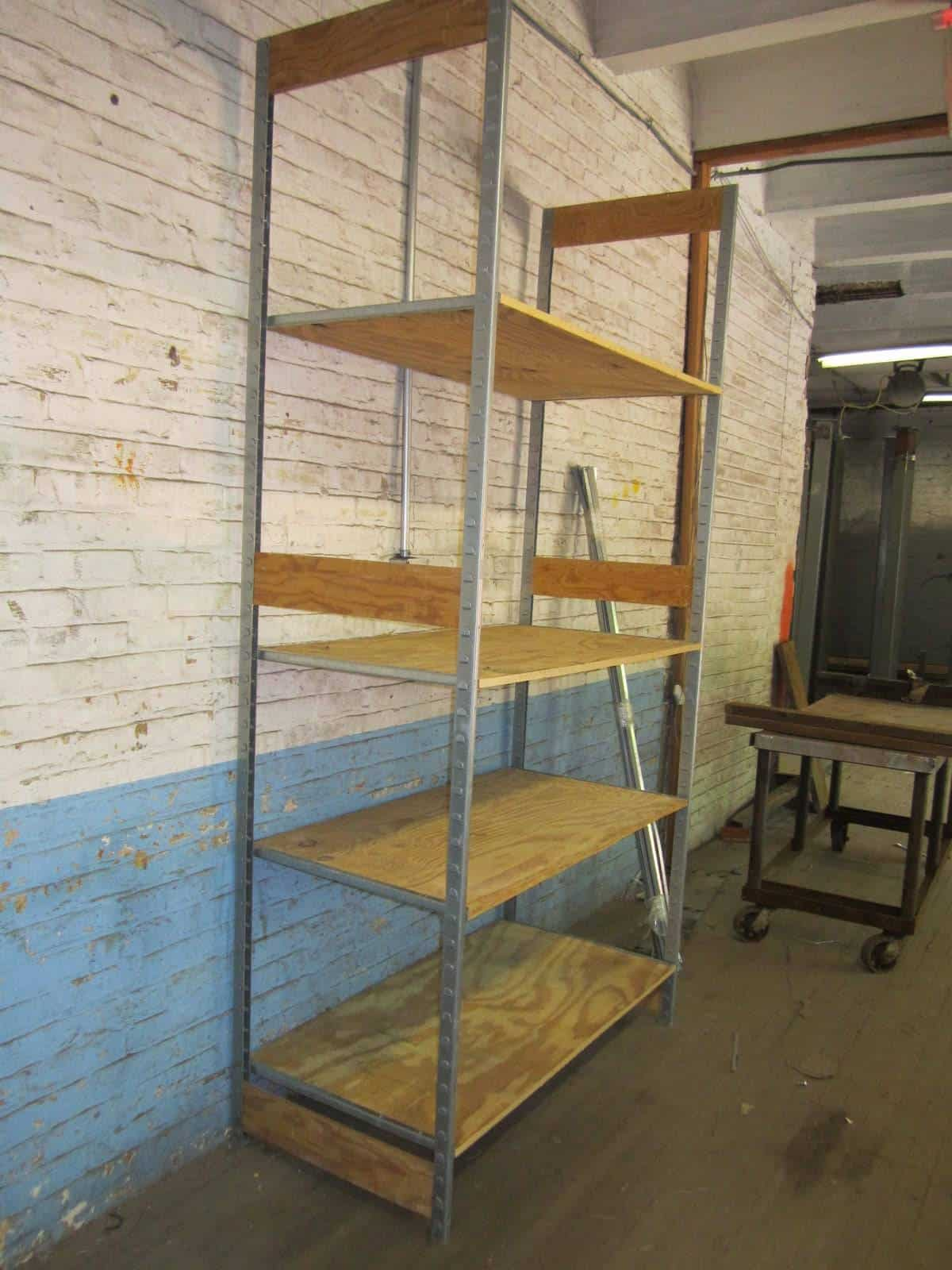 Stock Room Design: Used Retail, Stockroom Shelving