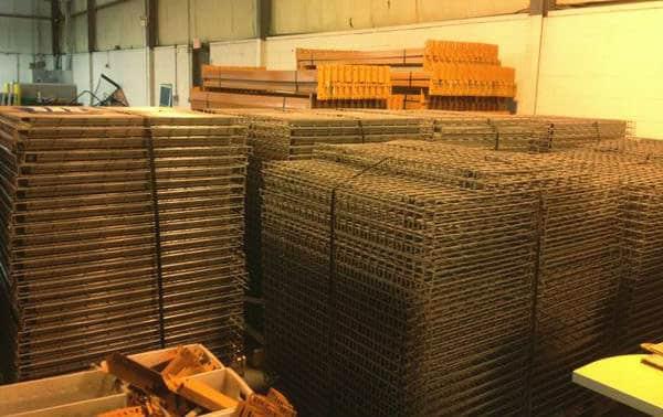 Wire Decks Wire Mesh Decking For Rack Nj Distributor