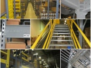 Equipto Shelving-Supported Mezzanines for Sale