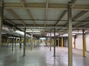 30,000 sq ft mezzanine structure