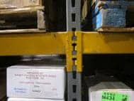 A picture of Republic keystone pallet rack