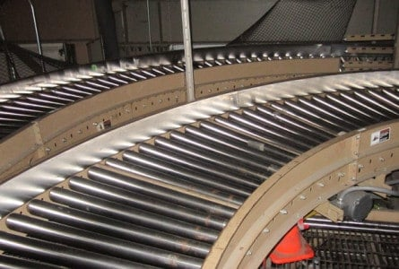 Large Mathews Conveyor and Sortation System