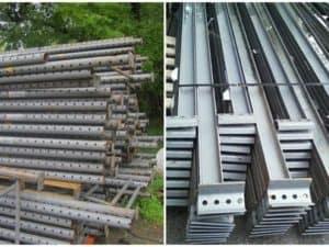 Artci rack frames and beams