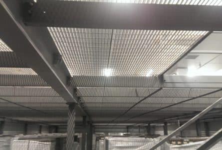 DataSavers mezzanine installation