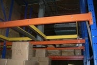 Used Frazier pushback rack system small