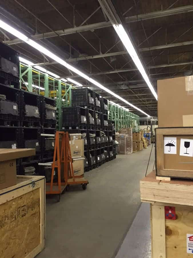 Used Stanley Vidmar Stak Racking Systems