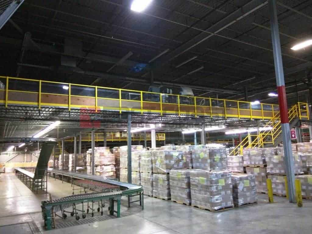 Mezzanine liquidation - (4) different sizes available
