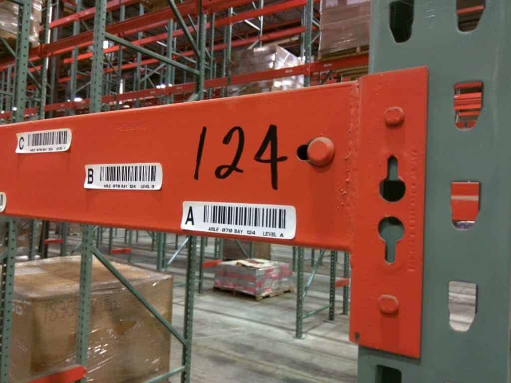 Interlake Pallet Rack Liquidation – Kirkwood, NY