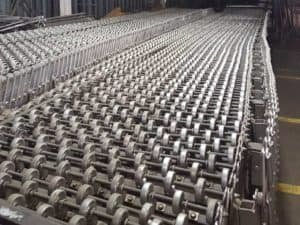 "Used Best Flex conveyor 30"" x 100' (extended)"