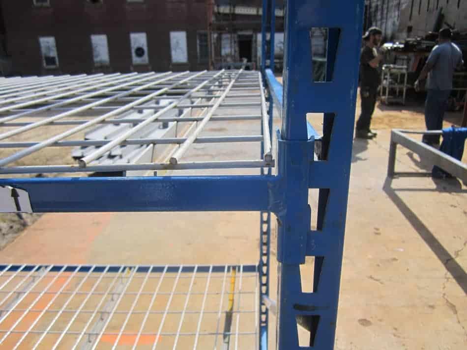Used-Bulk-Rack-Section-Frame-Beam-Close