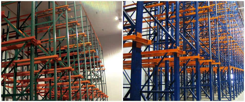 Used drive-in racking category image (installed/standing drive-in rack in a warehouse)