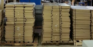 Used Equipto surplus shelves (shelves only)