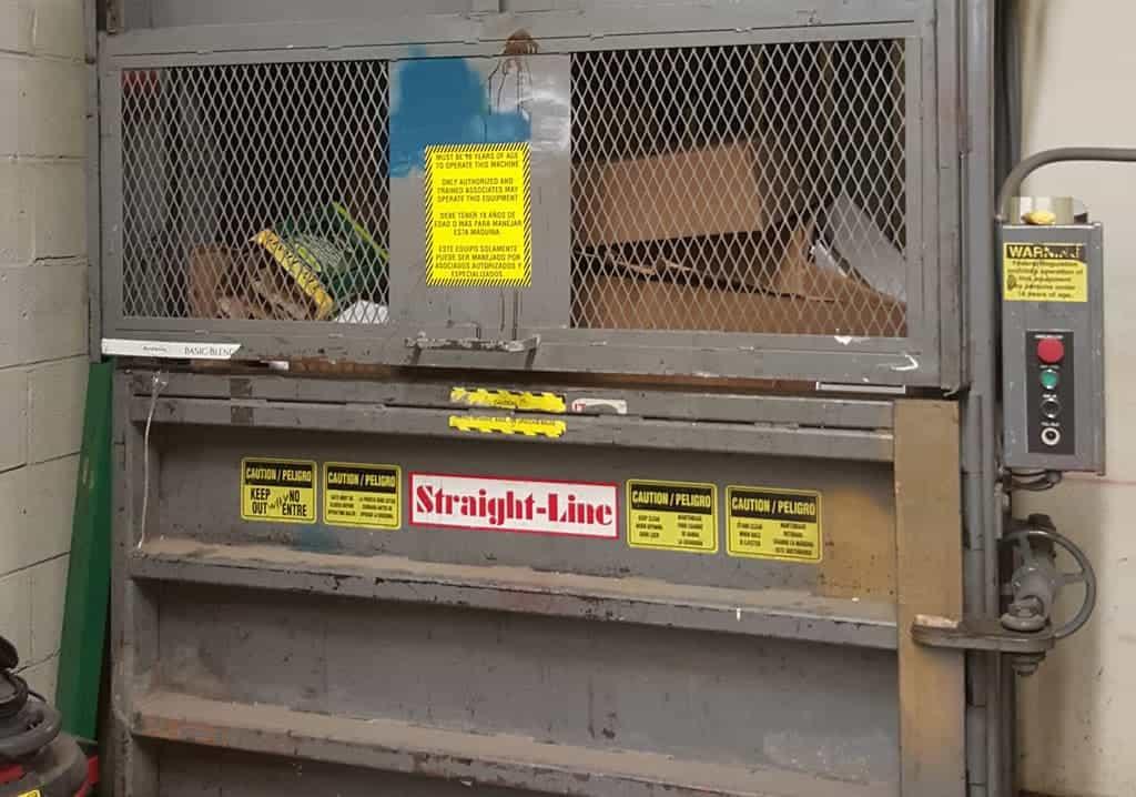 Used-Straight-Line-Baler