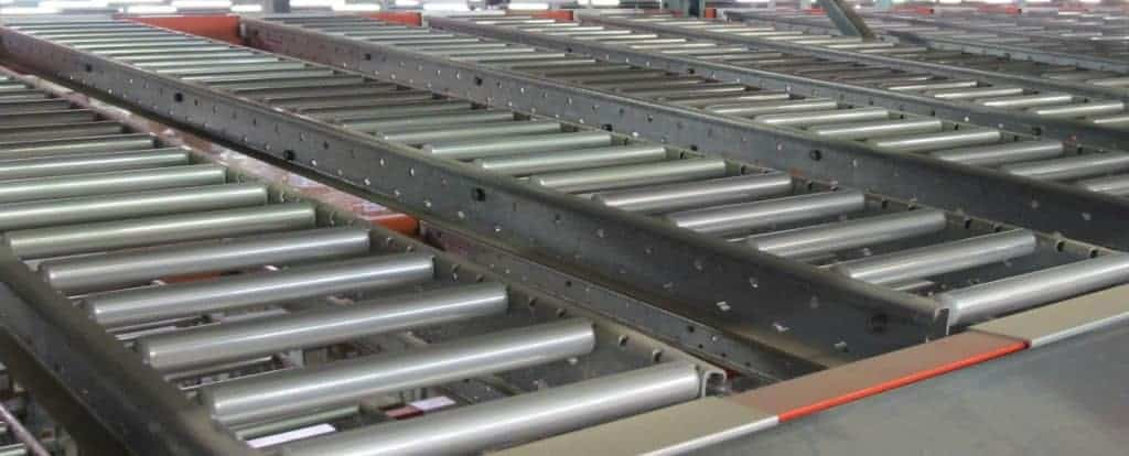 """9""""W x 72"""" long Span-Track installed in rack"""