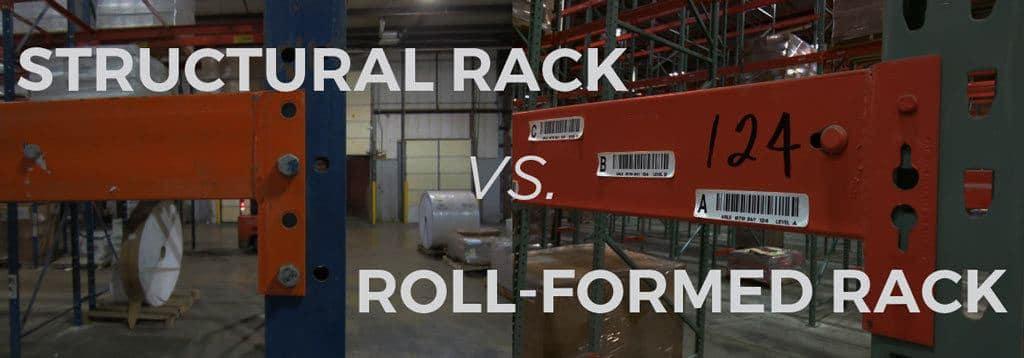 Structural-pallet-rack-vs-Roll-formed-pallet-rack