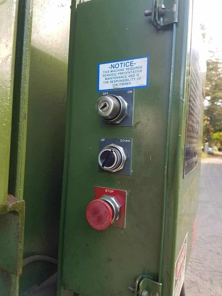 Used PTR 2300HD Vertical Baler