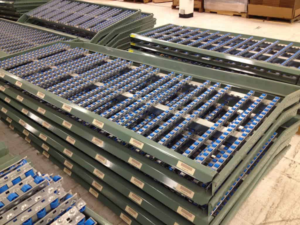 used-interlake-carton-flow-shelves-close-featured