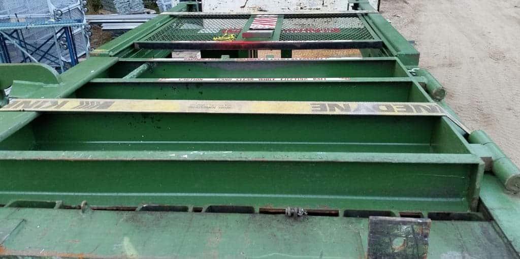 used-ptr-1800hd-vertical-baler-on-truck