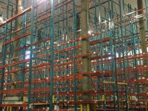 """Speedrack teardrop rack - 42"""" x 36"""" frames and 81"""" long beams"""