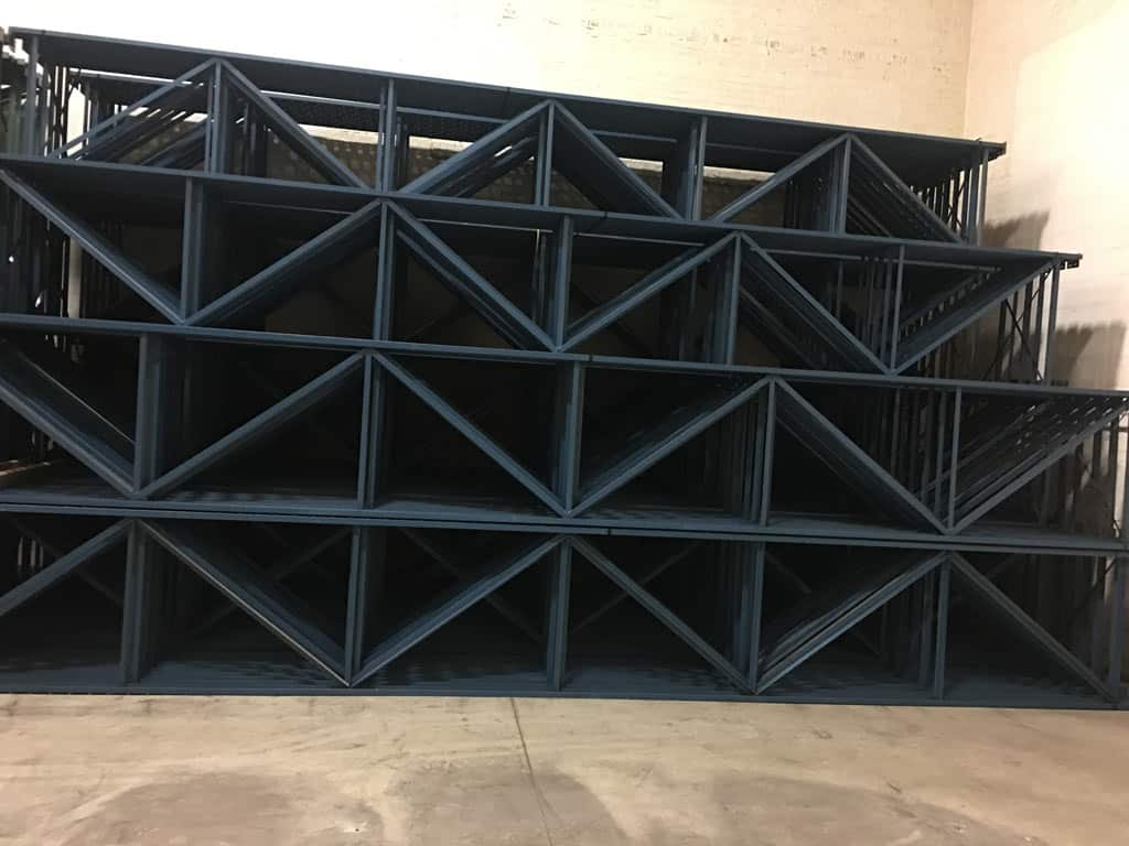 Used Structural Rack – 40″ x 24'/25′ x 100″/150″