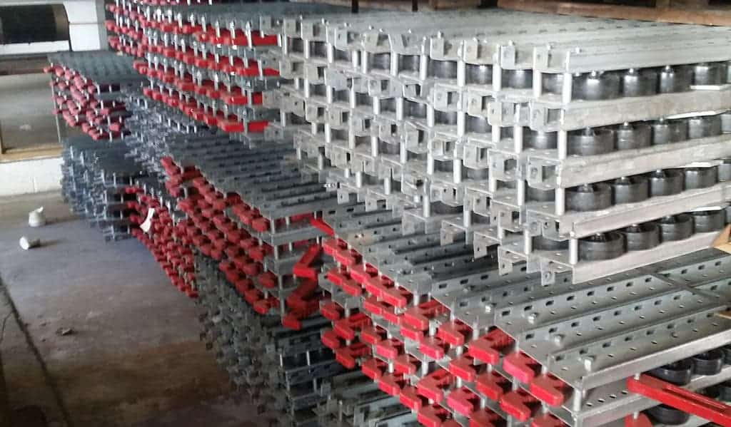 Used-105-Long-Pallet-Flow-Rail