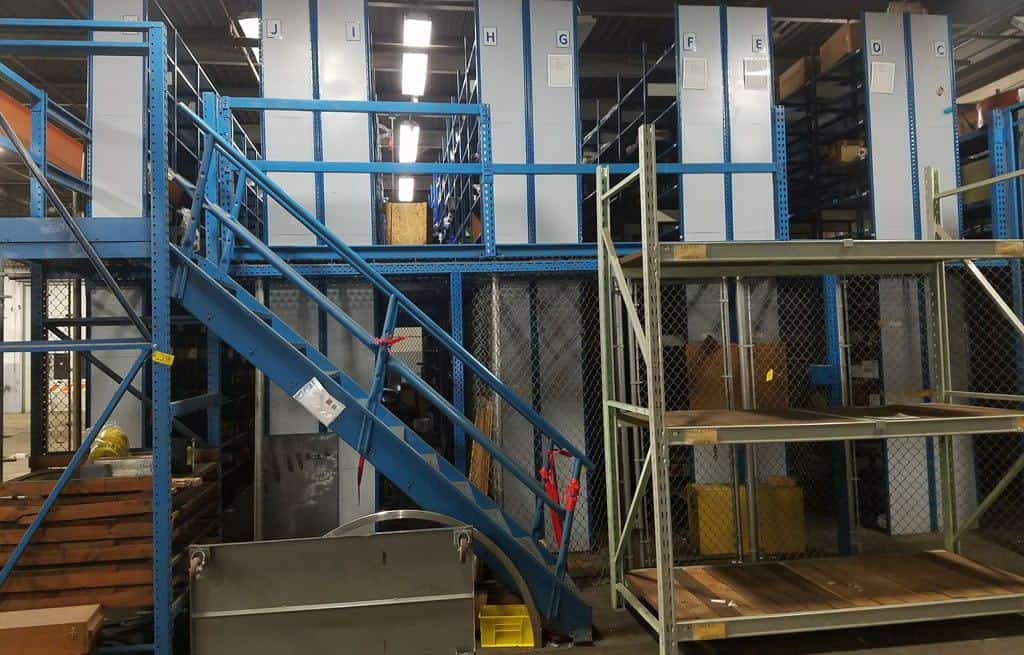Used-Equipto-Shelving-Supported-Mezzanine-30-48