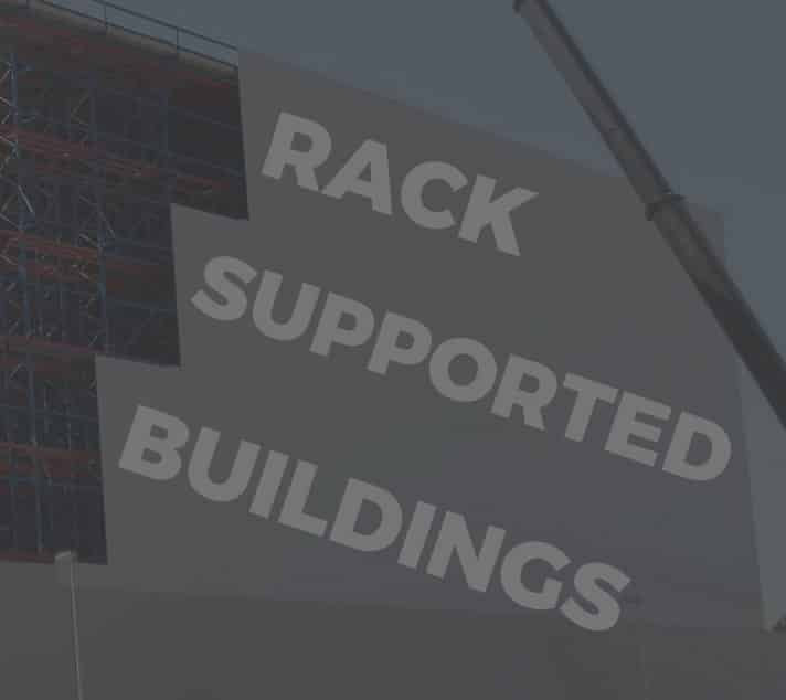 The Curious Case of Rack-Supported Buildings