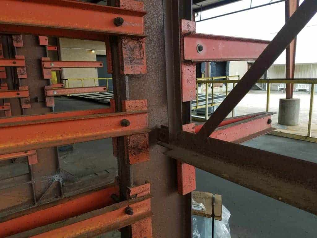 Used Cantilever Rack 48 Quot Arms 10 High
