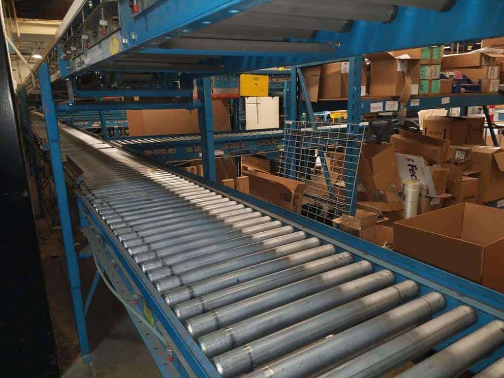 Hytrol-24-30-Live-Roller-Power-Conveyor
