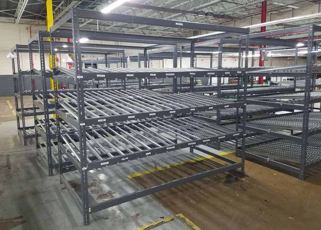 Used-Carton-Flow-Rack-48-x-96-Front-Side
