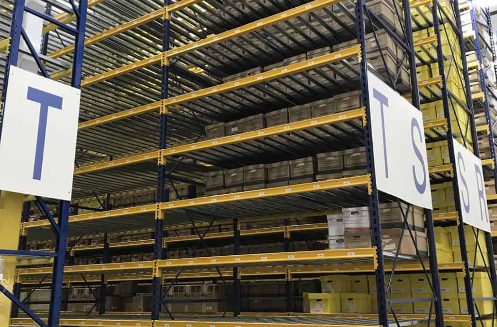 Used Keystone Style Pallet Rack – Multiple Size Frames & Beams