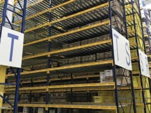 Republic brand keystone pallet rack liquidation - multiple sizes available