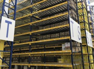Republic brand keystone pallet rack liquidation - multiple sizes available