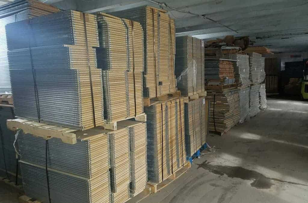 Used Lozier S-Series Shelving – 12/18″D x 48″W x 11'H