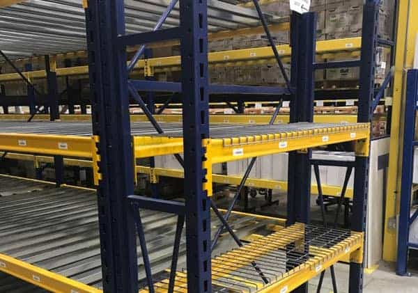 Used Keystone Style Pallet Rack – Phase 2 Teardown