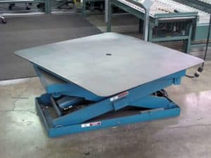 Used Lift Tables & Pallet Positioners