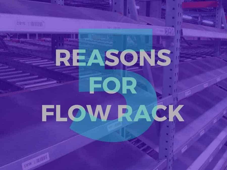 5 Reasons Your Warehouse Needs Carton Flow Rack
