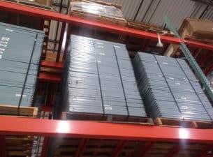 Nut & bolt shelves stacked