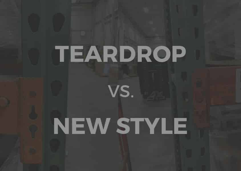 The Difference Between Teardrop and Interlake New Style Pallet Rack