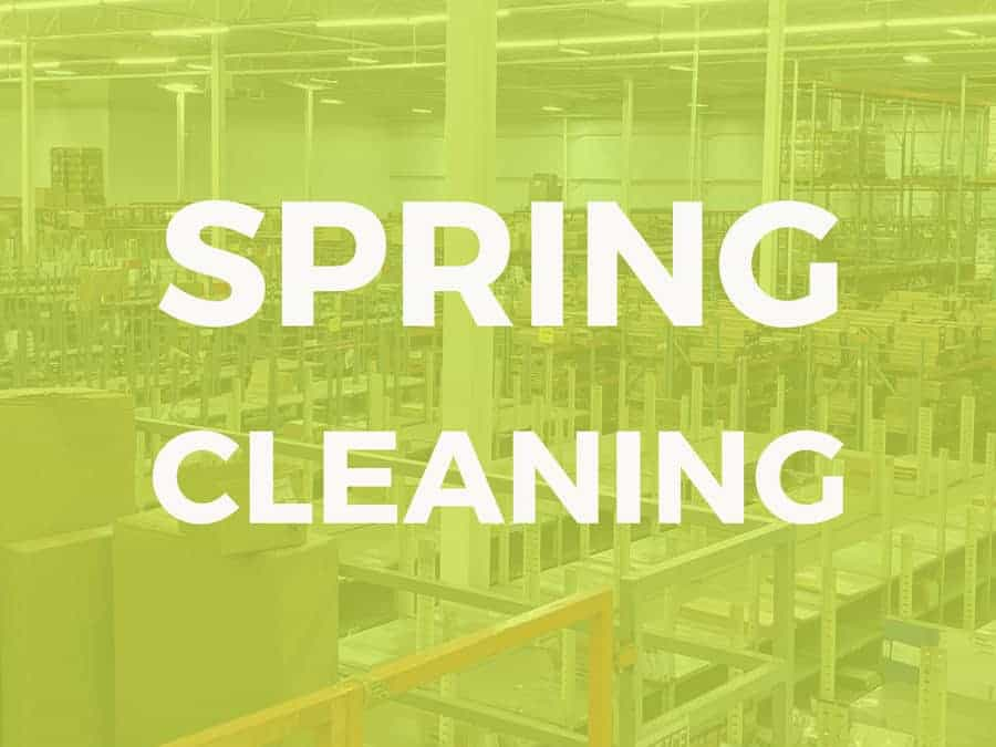 6 Tips for Spring Cleaning Your Warehouse