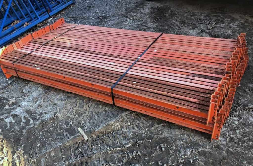 "96"" x C-3"" Frazier structural beams in fair condition"