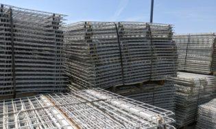 """48"""" x 71"""" wire decks stacked"""